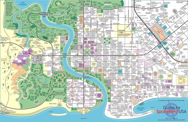 Fantasy-World-Maps-Springfield-Simpsons